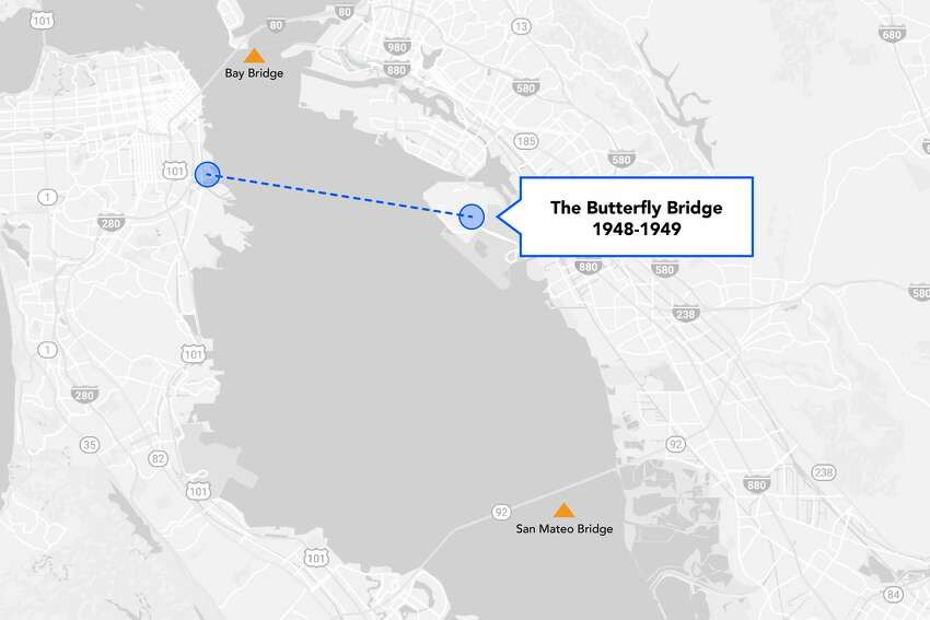 The renowned architect Frank Lloyd Wright believed the bay deserved a bridge that was more aesthetically pleasing than the steel bridges of his day. So he designed a dual-concrete arch