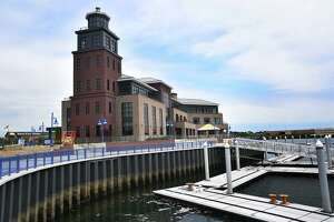 The new Harbormaster's building and docks are the most recent addition to the development of the Steelpointe Harbor property in Bridgeport.