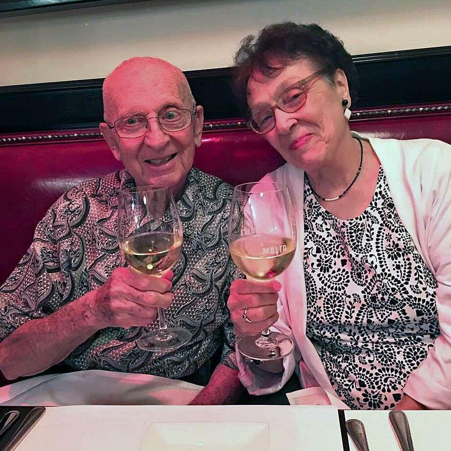 Frank James Foti and Josephine Vernuccio Foti, of Bridgeport, Conn., will celebrate their 65th wedding anniversary on June 19, 2019. Photo: Contributed Photo