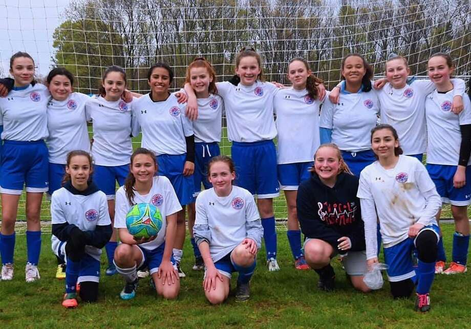 The Norwalk 14-U/15-U girls soccer team will play in the Connecticut Cup semifinals Saturday at Hale Ray School in Norwalk at 1 p.m. Photo: Contributed
