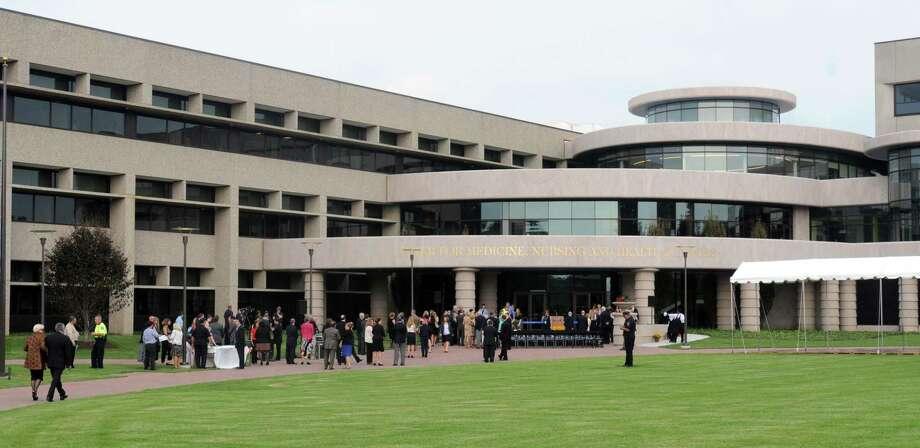 (Mara Lavitt — New Haven Register) File photo of Quinnipiac University's Center for Medicine, Nursing and Health Sciences, where the program was held Photo: / / Mara Lavitt