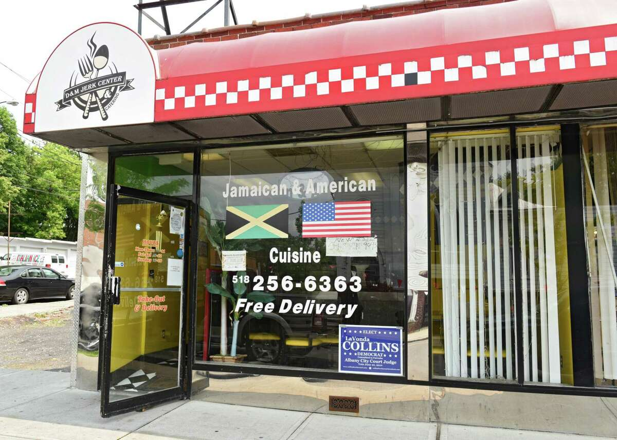 Exterior of D&M Jerk Center on Quail Street on Friday, May 31, 2019 in Albany, N.Y. (Lori Van Buren/Times Union)