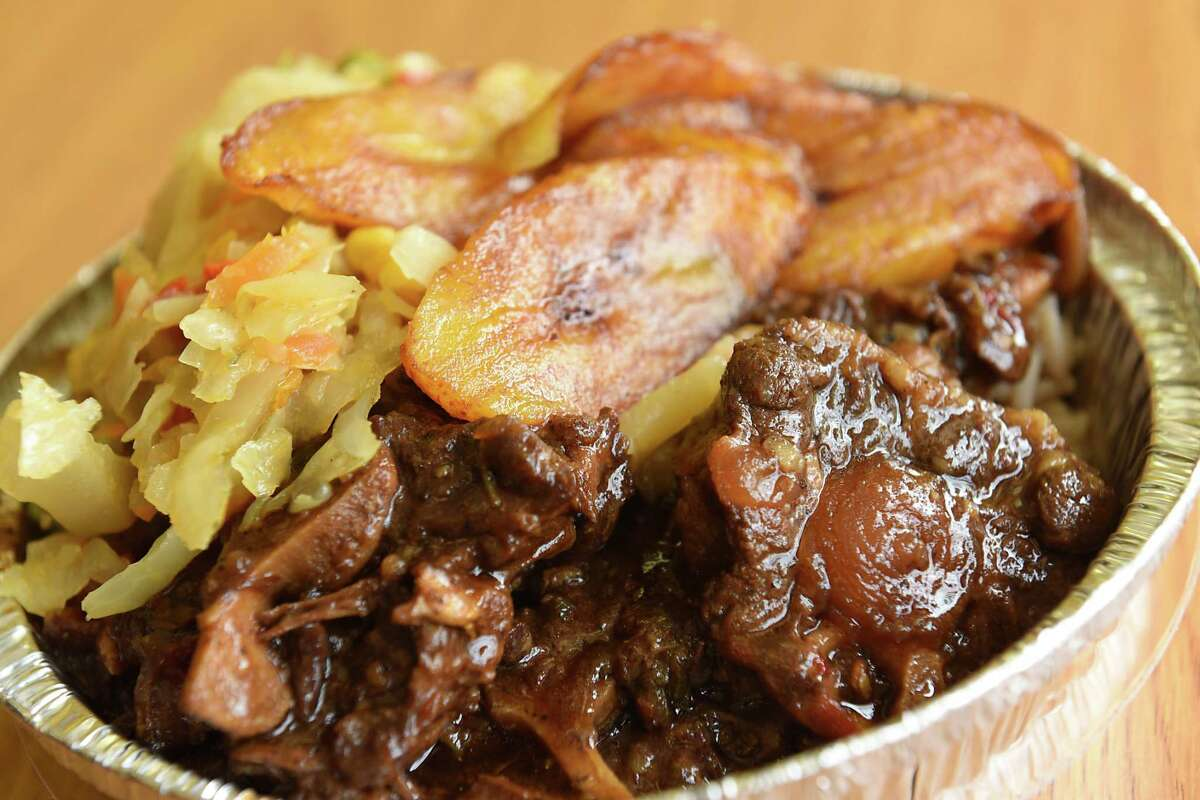 Oxtail at D&M Jerk Center on Quail Street on Friday, May 31, 2019 in Albany, N.Y. (Lori Van Buren/Times Union)