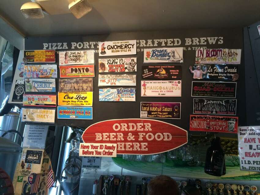 Pizza Port Brewing CompanyMultiple locations, Ocean Beach and San Diego