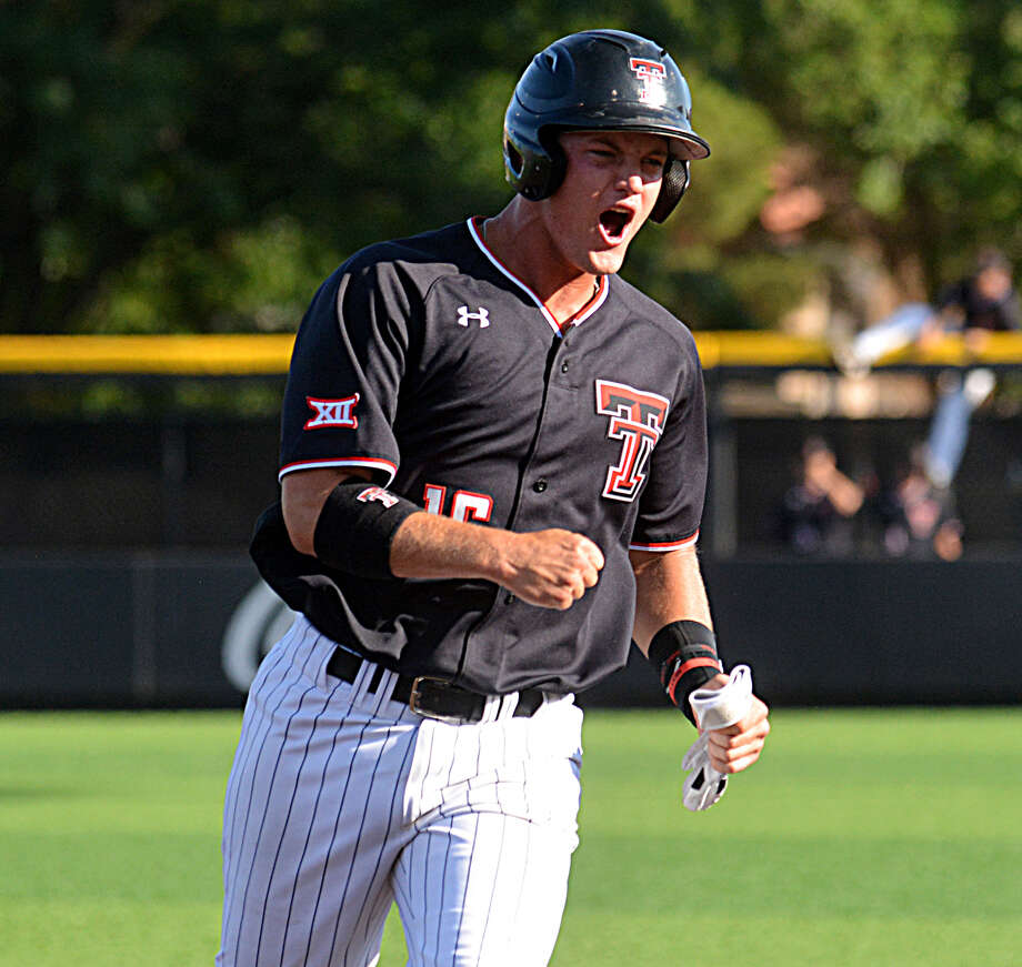 Texas Tech junior Josh Jung was taken with the eighth overall pick in the 2018 MLB Draft on Monday by the Texas Rangers. Jung and the Red Raiders will host Big 12 foe Oklahoma State this weekend in the Super Regionals for the right to go to the College World Series. Photo: Nathan Giese/Planview Herald