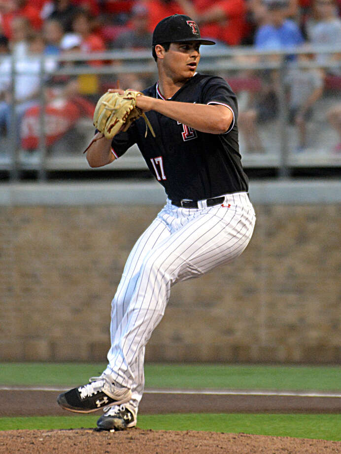 Relief pitcher John McMillon was one of six additional draft picks for the Texas Tech baseball team during the 2019 MLB Draft. McMillon was taken in the Detroit Tigers in the 11th round. Photo: Nathan Giese/Planview Herald