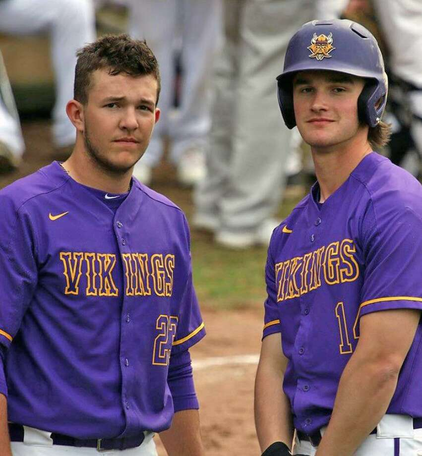 Westhill's Montana Semmel, left, and Bobby Zmarzlak were taken on the final day of the MLB Draft. Semmel was taken by the Yankees in the 36th round. Zmarzlak was chiosen by the Orioles in the 40th round. Photo: Contributed Photo / Stamford Advocate Contributed