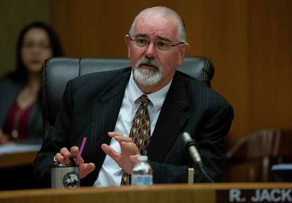 Harris County Precinct 4 Commissioner R. Jack Cagle skipped Tuesday Commissioners Court meeting to keep the Democratic majority from passing a property tax rate increase.