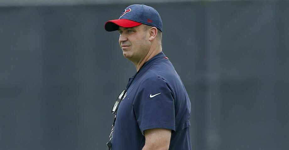 PHOTOS: A look at the contract for each Texans player heading into the 2019 season. Texans coach Bill O'Brien made his first public remarks since general manager Brian Gaine was unceremoniously fired Friday. Photo: Bob Levey/Houston Chronicle