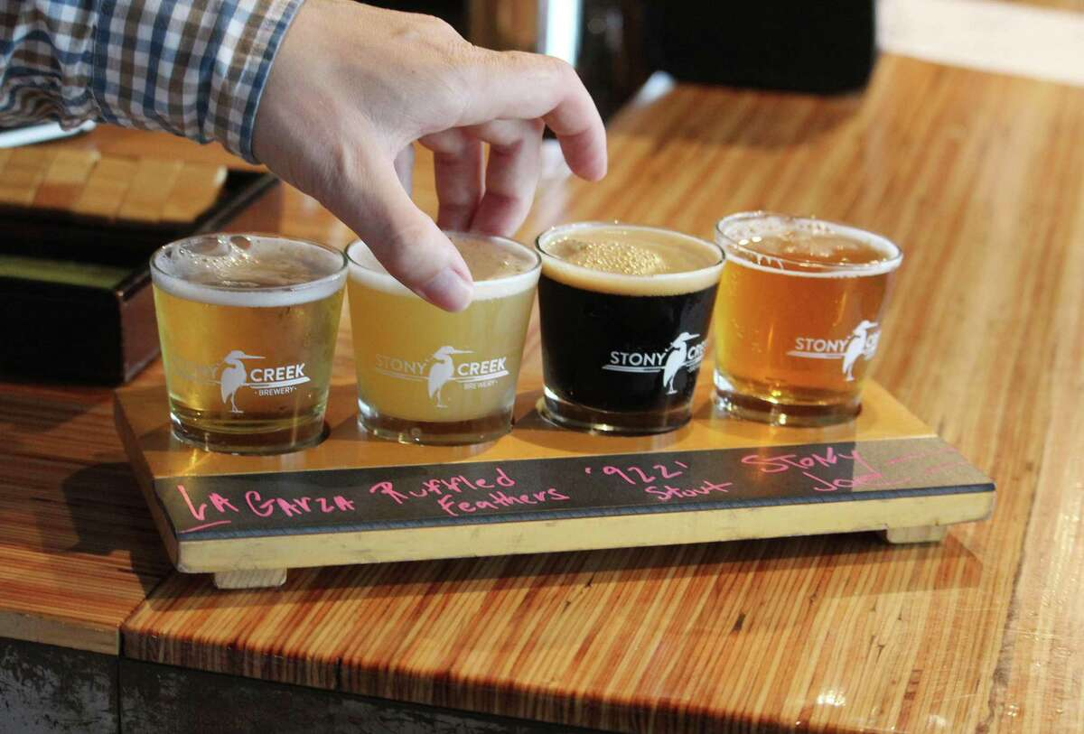 Stony Creek Brewery, a two-year-old brewery with a tap room, event space and outdoor bar, overlooks a river in Branford, Conn. Hearst Connecticut Media reporters visited July 7, 2017.