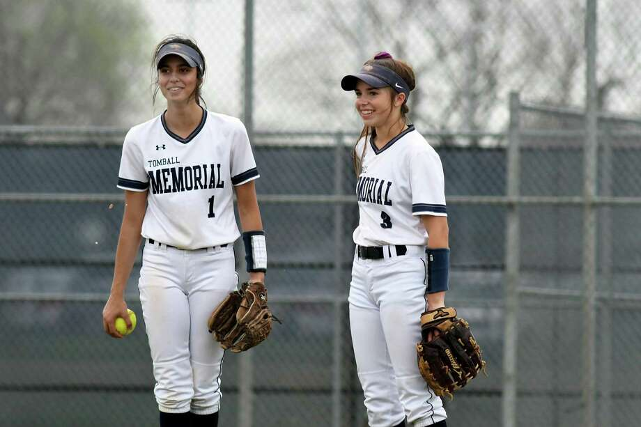 Tomball Memorial senior Italie Speziale was named to the 2018-19 All-District 14-6A first team (4) and junior Amanda Molnar (1) was named an honorable mention. Photo: Jerry Baker, Houston Chronicle / Contributor / Houston Chronicle