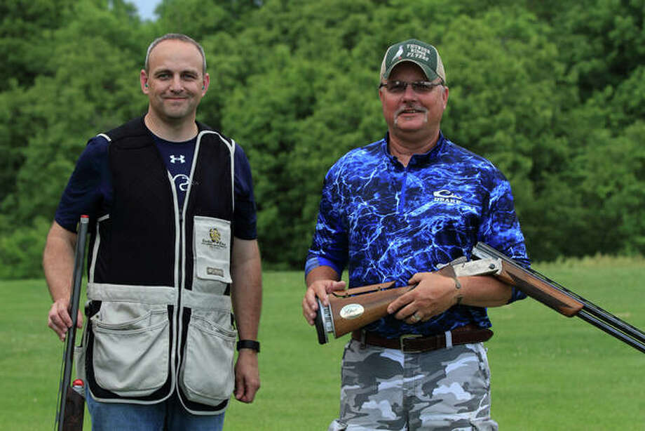 Chris Elliot and Eric Williams registered a perfect 25 out of 25 to repeat as winners of the Homer Clark Quail Flush at the 2019 AMH Duck Pluckers Ball.