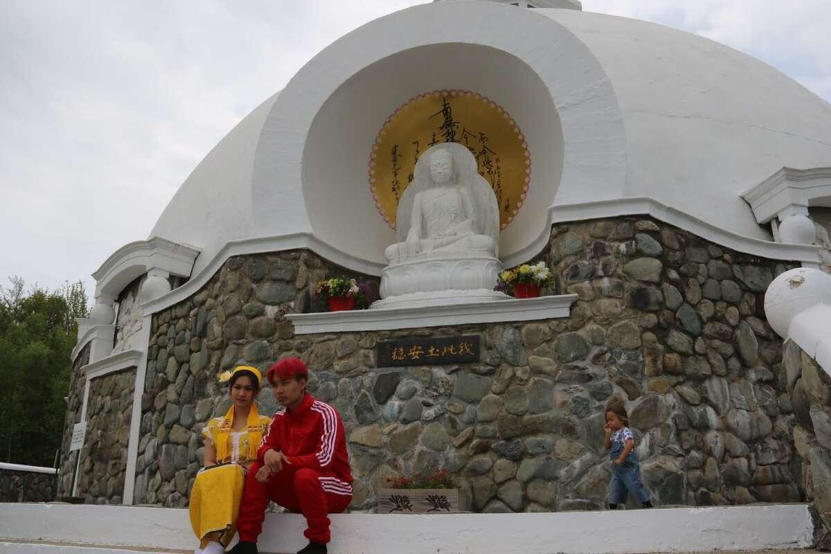Grafton Peace Pagoda and Buddhist temple celebrates Buddha's birthday.