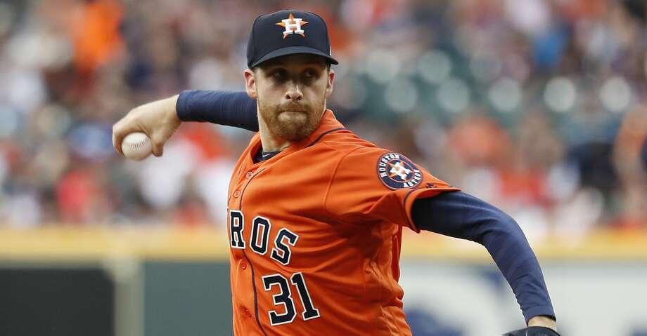 Astros' Collin McHugh: 'I feel great' - San Antonio ...