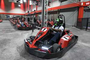 Former Met and baseball legend Mookie Wilson joins in on a race with students of a Future 5 program for a kick off fundraiser at RPM Raceway on June 7, 2019 in Stamford, Connecticut. Future 5 is a Stamford-based non-profit that helps motivated, low-income high school students in Stamford reach their full potential, leading to independence and productive citizenship.