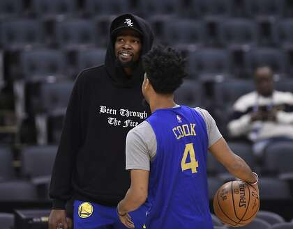 Warriors Still Hoping To Get Kevin Durant Back For Game 5 Sfchronicle Com