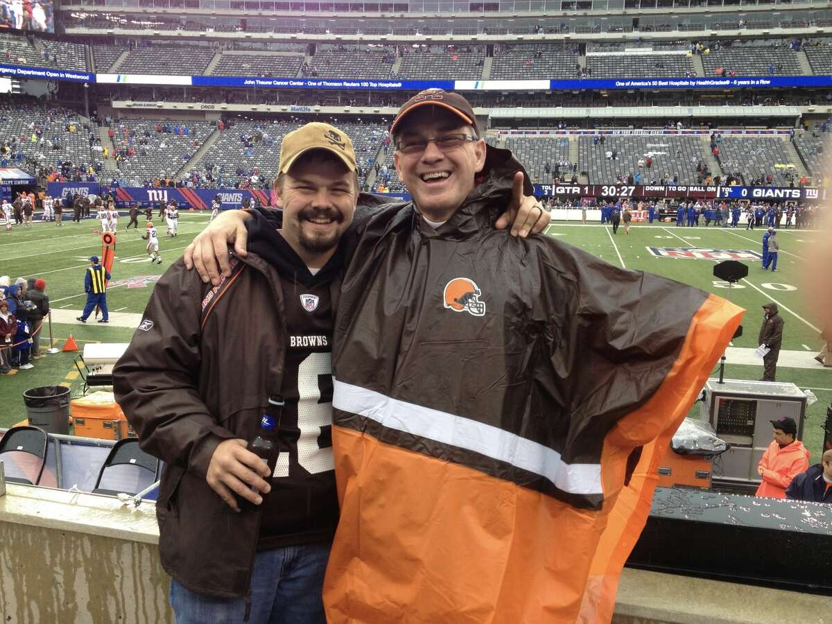 1. I'm a long-suffering fan of the Cleveland Browns, attending at least one game almost every year.
