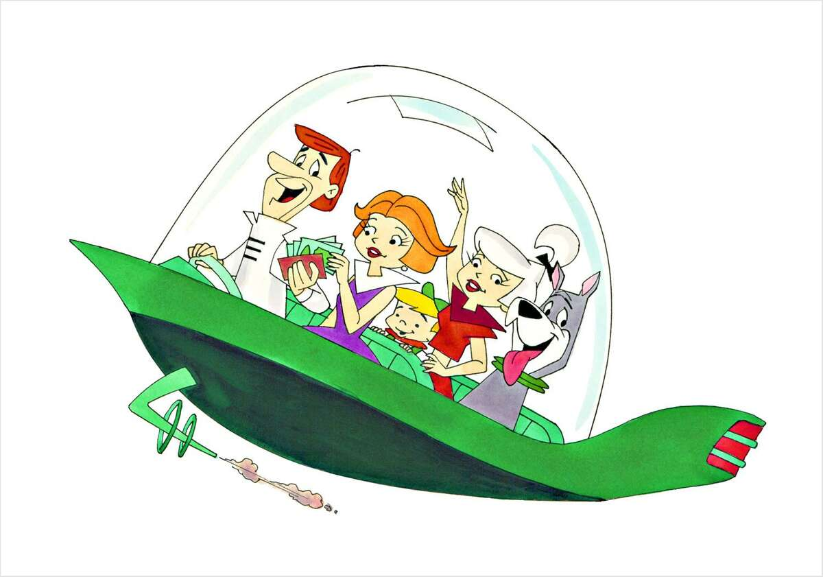"""Award-winning animator and director Ron Campbell's hand can be seen in some of the top cartoons over the decades, including """"The Jetsons,"""" such as this 1996 illustration, """"Snowbound."""""""