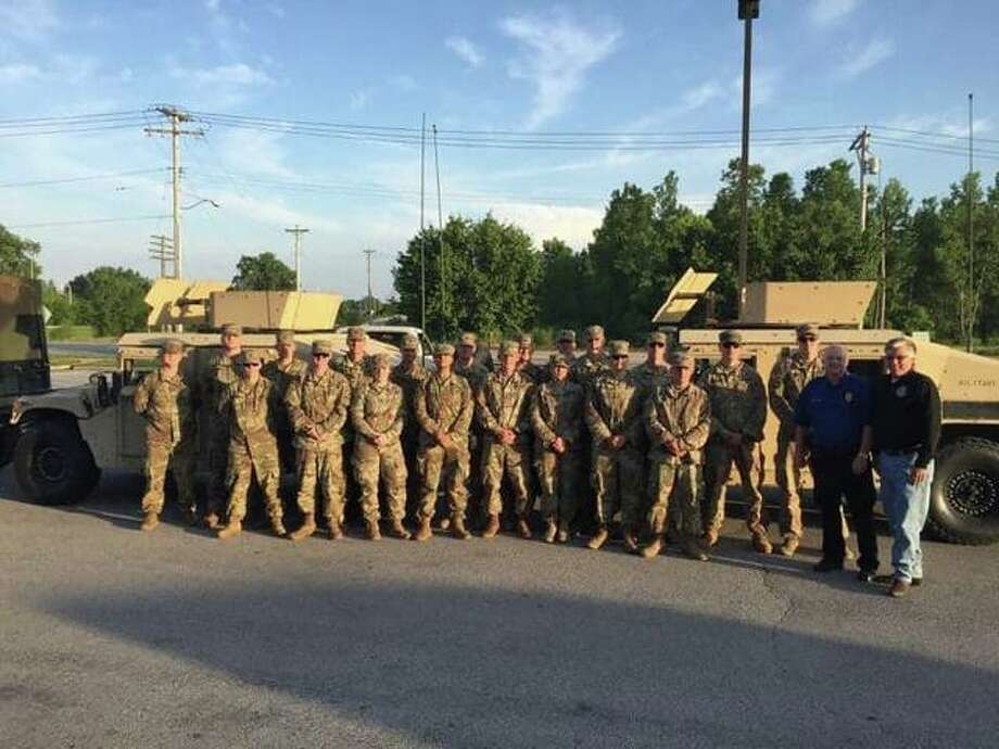 National Guard arrives in Alton: Will patrol flood areas