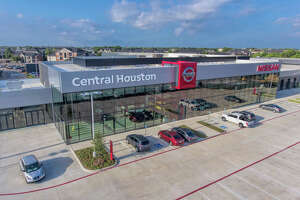Central Houston Nissan's new buildings adhere to Nissan's latest global design standards.