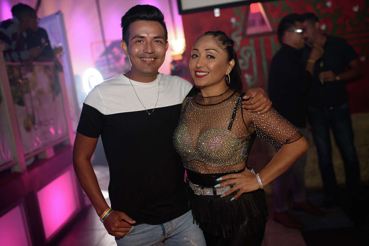 Rumba with Pride at Crystal Nightclub in southwest Houston on Friday, June 7, 2019