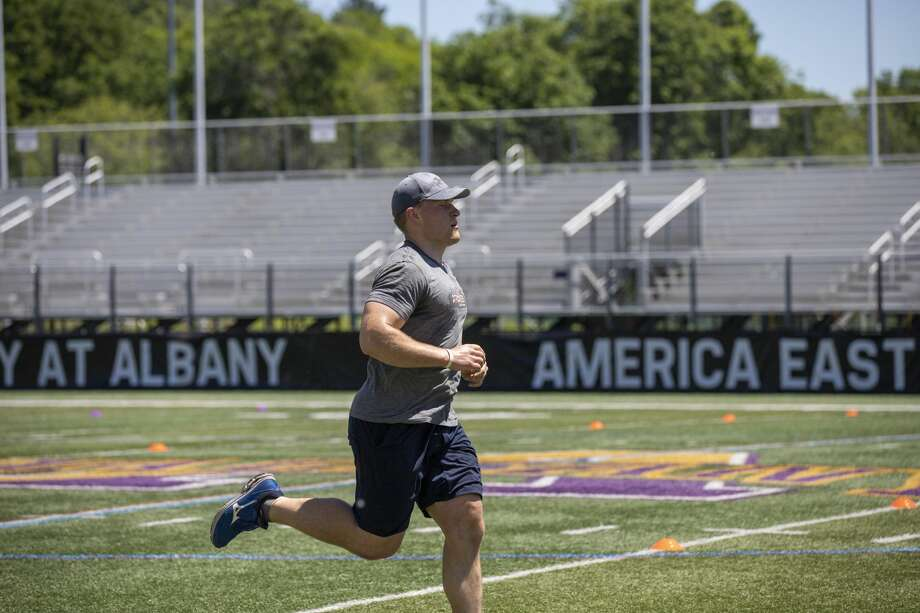 Were you seen at SEFCU's Operation Fitness to benefit military veterans at the University at Albany's Casey Stadium in Albany on June 8, 2019? Photo: Photos: Alena Baldwin