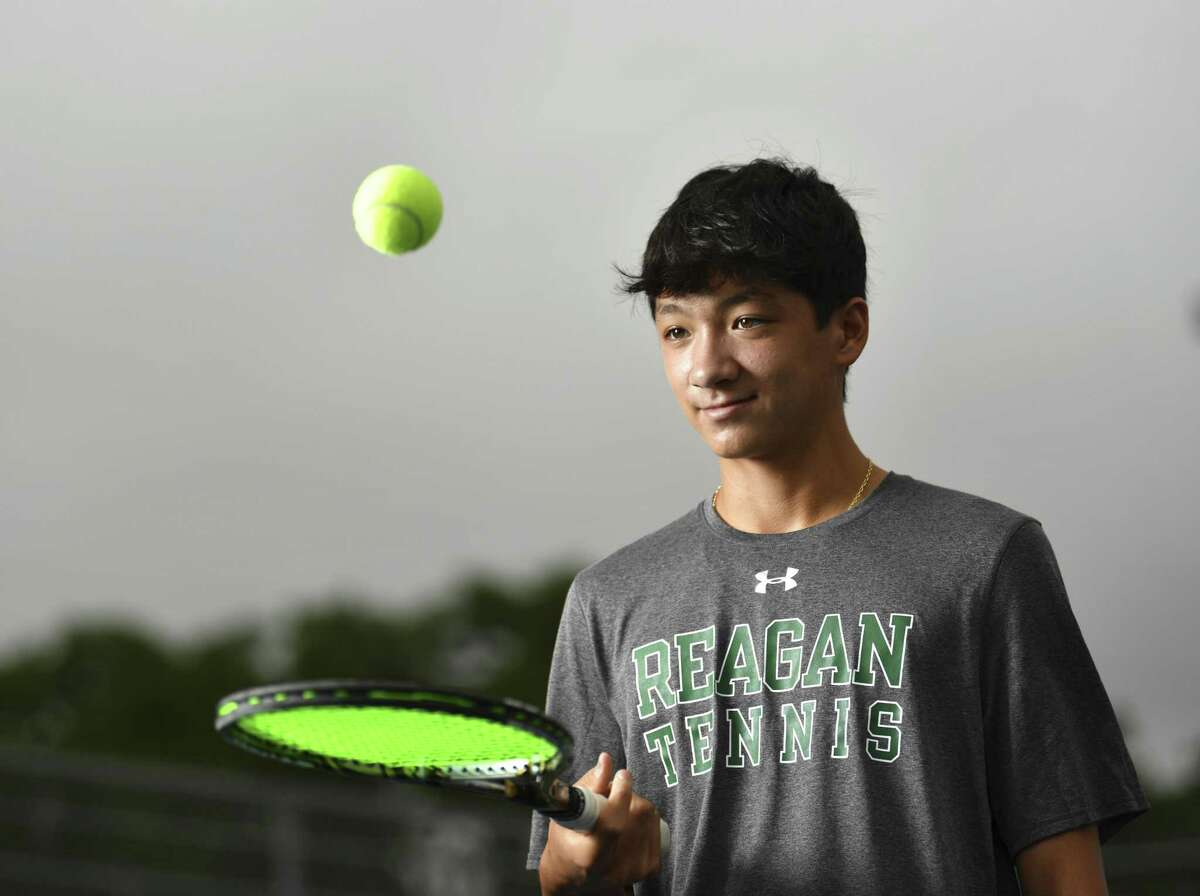 Reagan freshman Kyle Totorica is the 2019 Express-News boys player of the year and UIL Class 6A silver medalist in singles play.