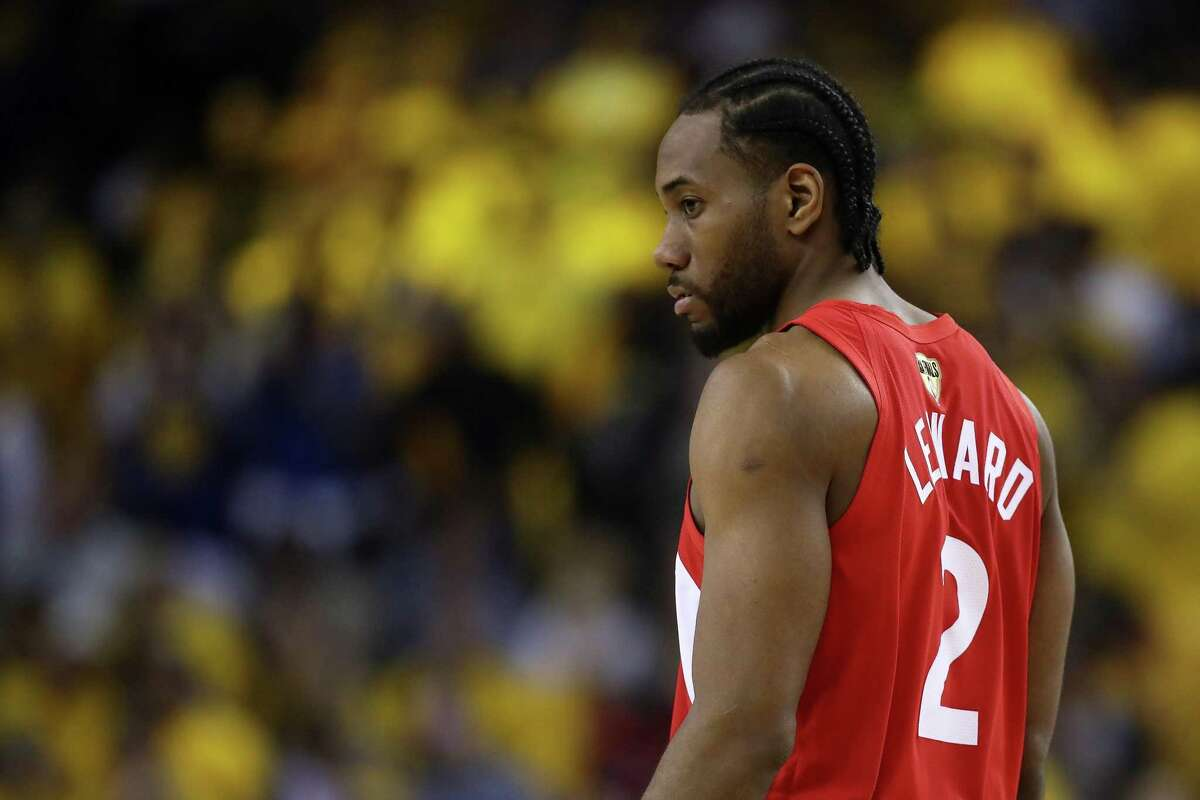 Kawhi Leonard and Danny Green were traded to the Raptors from the Spurs in exchange for DeMar DeRozan and Jakob Poeltl. It's unknown if Leonard will stay in Toronto long-term, but team GM Masai Ujiri brought him aboard anyway.