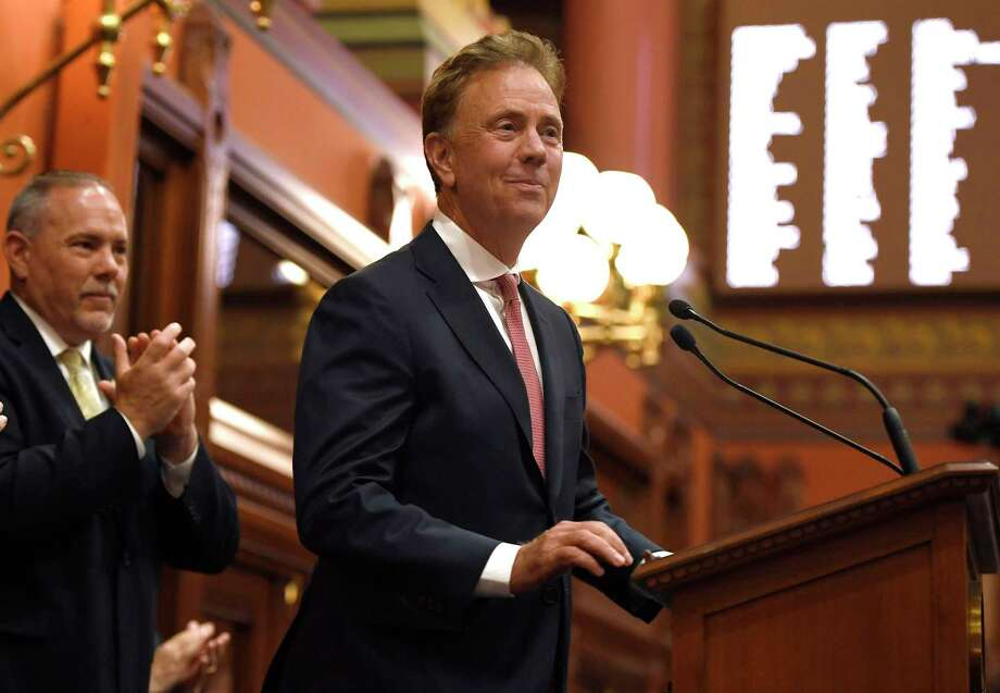 Gov. Ned Lamont in a 2019 file photo in the State Capitol. Photo: Jessica Hill / Associated Press / Copyright 2019 The Associated Press. All rights reserved