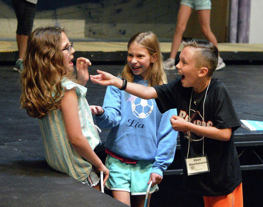"""Cougar Theater kids show off musical talents in """"Frozen Jr """" - The"""
