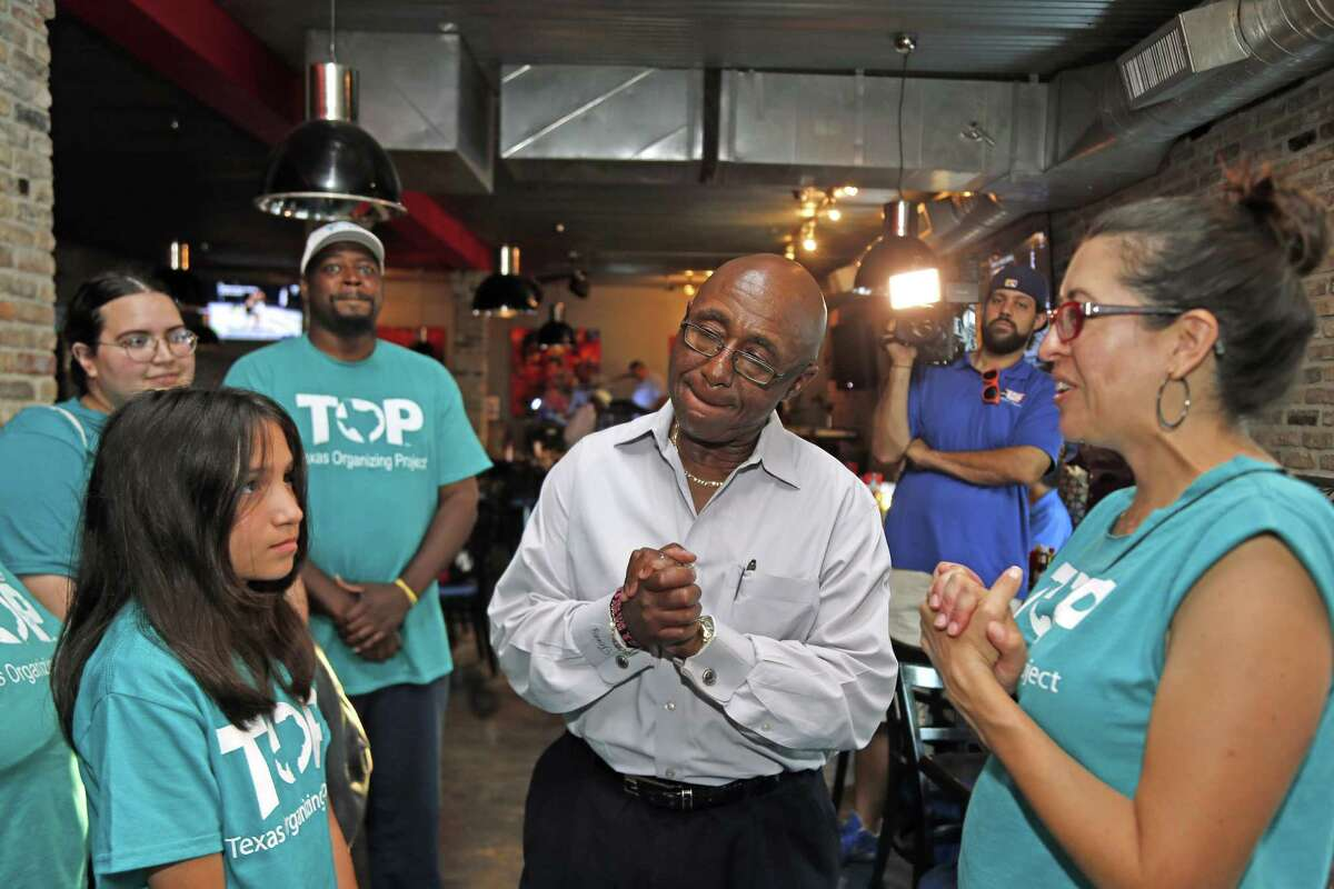 District 2 council candidate Keith Toney is hosting his Election Night Watch Party and greets supporters at Tony G's restaurant on Saturday, June 8, 2019