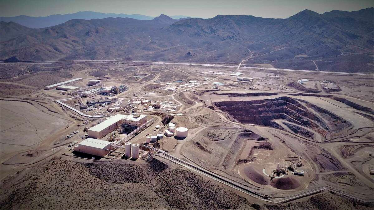 This undated photo provided by JHL Capital Group LLC shows the Mountain Pass Mine in San Bernardino County, Calif. the only producer of rare earth minerals in the United States. Rising trade tensions have many people worried about the 17 exotic-sounding rare earth minerals needed to make high-tech products like robotics, drones and electric cars. But trade experts say China's recent threats to stop all imports of the minerals to the U.S. are not cause for panic. (JHL Capital Group LLC. via AP)