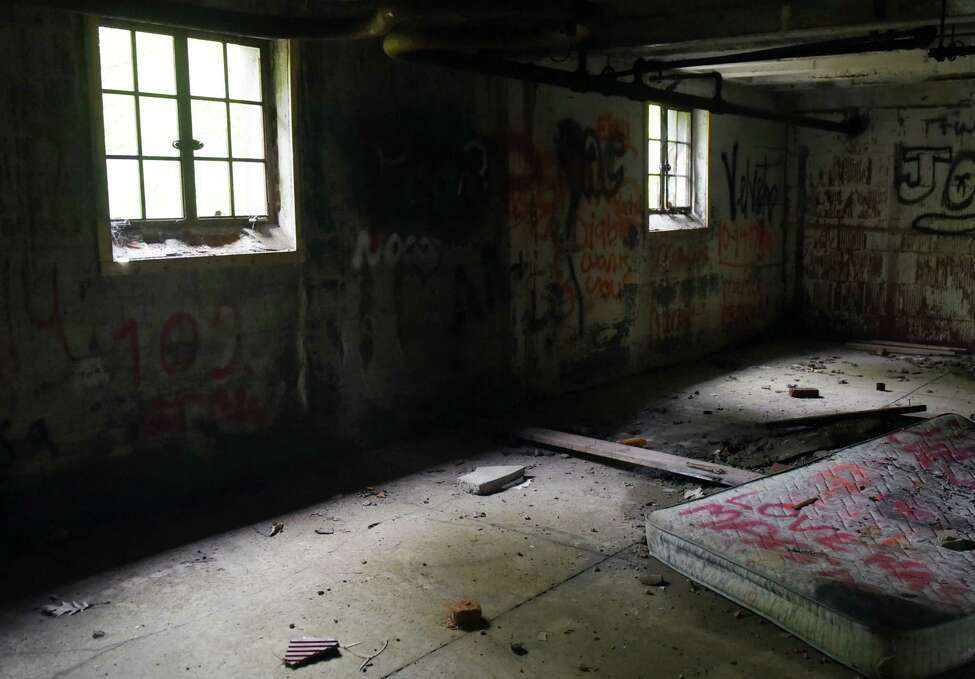 The bottom floor of the Homestead Asylum on Thursday, May 23, 2019 in Middle Grove, NY. (Phoebe Sheehan/Times Union)