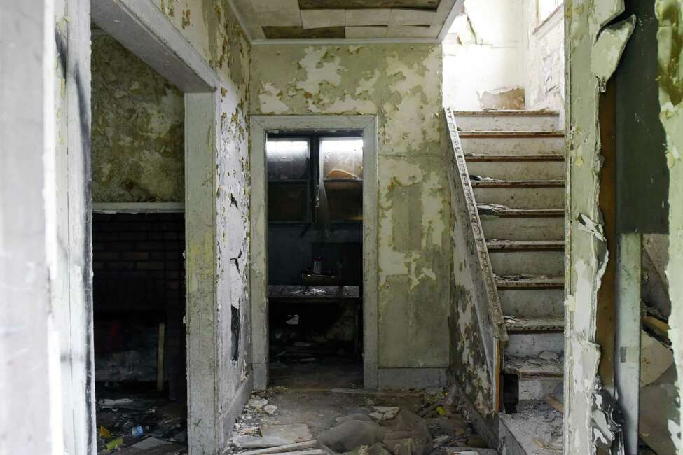 The inside of the caretaker's house for the Homestead Asylum on Thursday, May 23, 2019 in Middle Grove, NY. (Phoebe Sheehan/Times Union)