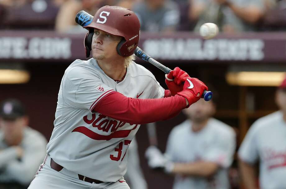 Stanford and Kyle Stowers lost the opener of their super regional against Mississippi State 6-2 in Starkville, Miss. Photo: Rogelio V. Solis / Associated Press