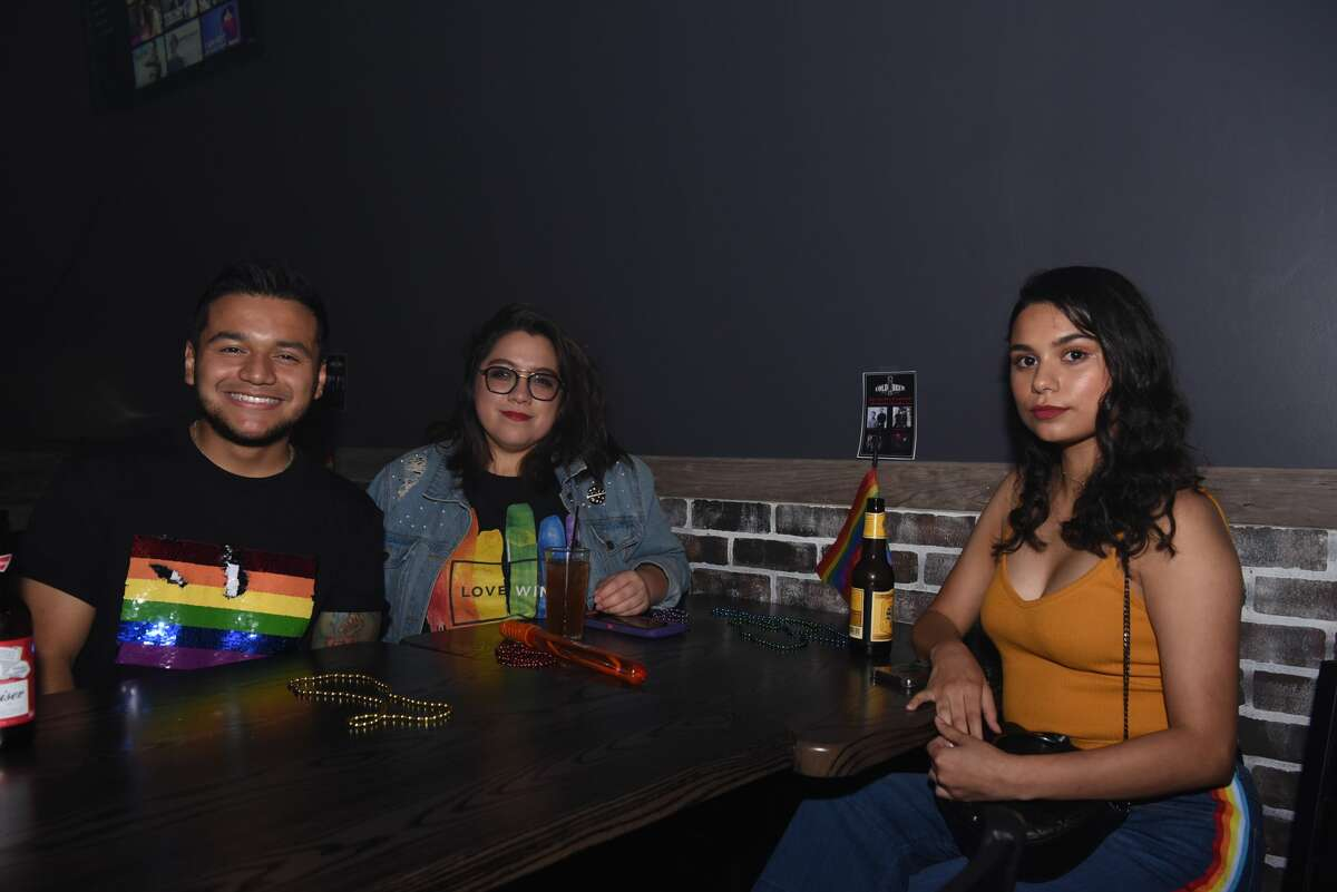 Laredoans celebrate and recognize the LGBTQ community's impact on Laredo with drinks, music and a drag show, at Cold Brew, Friday, June 7, 2019.