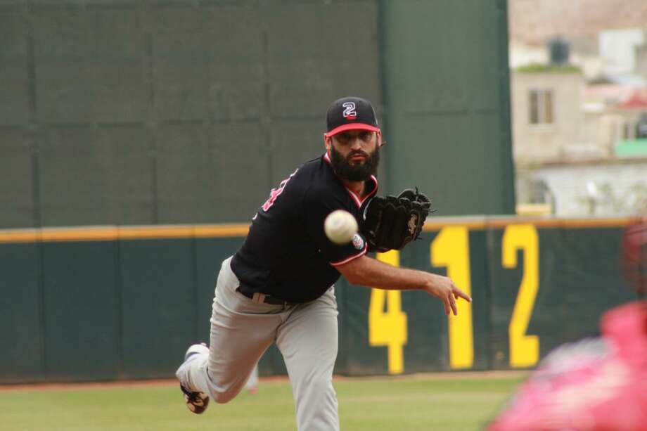 Tecolotes Dos Laredos starter Kenneth Sigman was chased in 2.2 innings Thursday allowing seven runs on 10 hits. Photo: Courtesy Of Tecolotes Dos Laredos / File