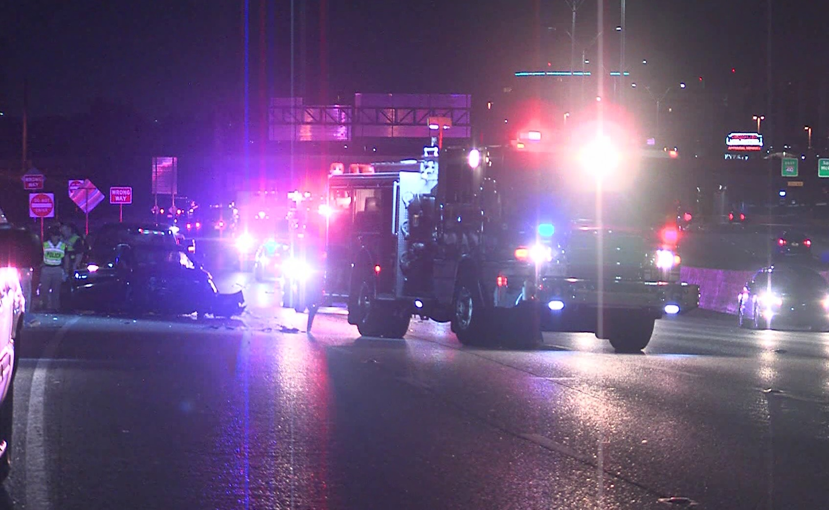 Castle Hills police officers injured in wreck that killed woman expected to make a full recovery