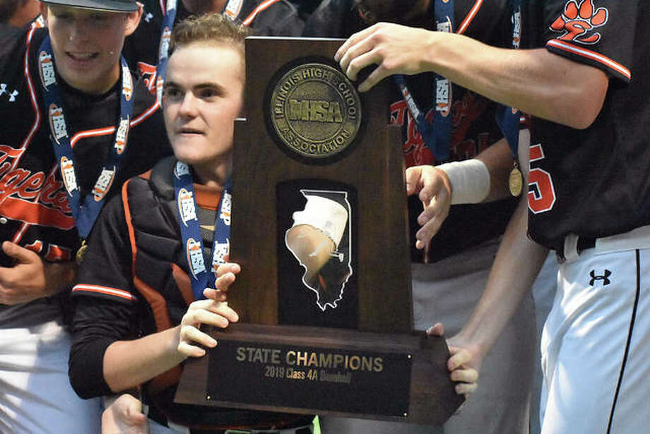 EHS baseball wins state title. Photo: Matt Kamp/The Intelligencer