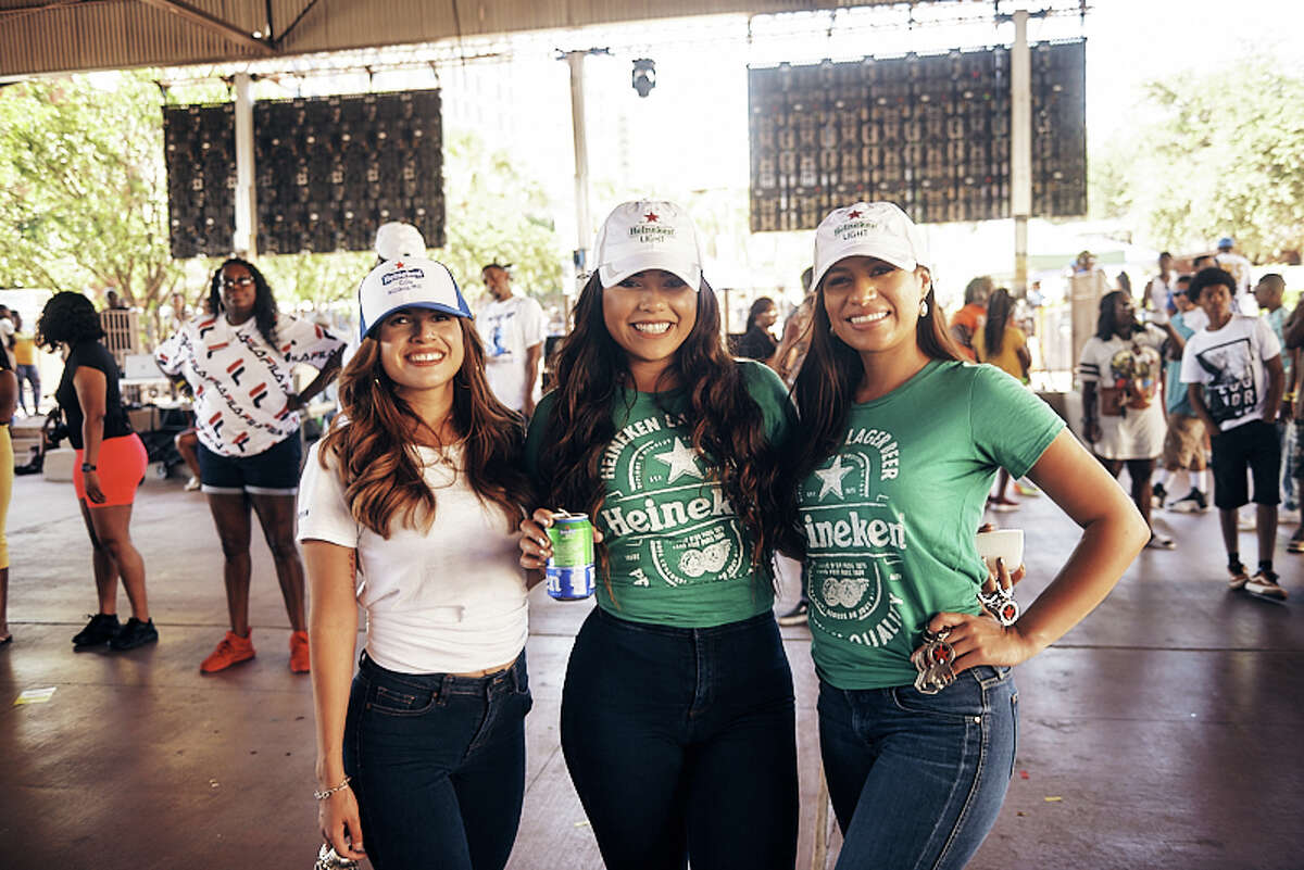 San Antonio gathered at the Historic St. Paul Square on Saturday, June 8, 2019, when 98.5 The Beat hosted a block party.