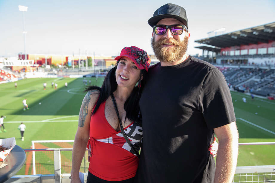 People took to the Toyota Field for Military Appreciation Night on Saturday, June 8, 2019, when the San Antonio FC won against the Reno 1868 FC. Photo: Joel Pena For MySA.com
