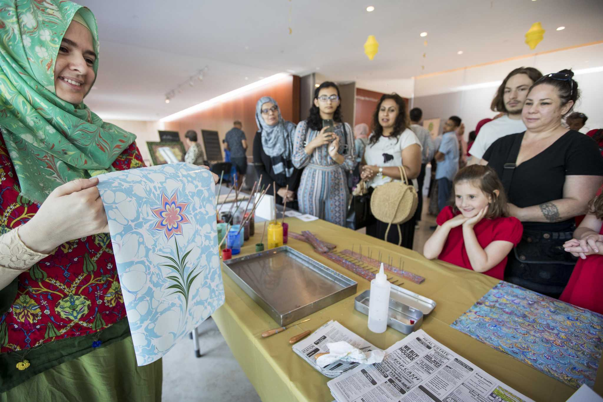 Cultures from around the world celebrate Ramadan's end at Asia Society