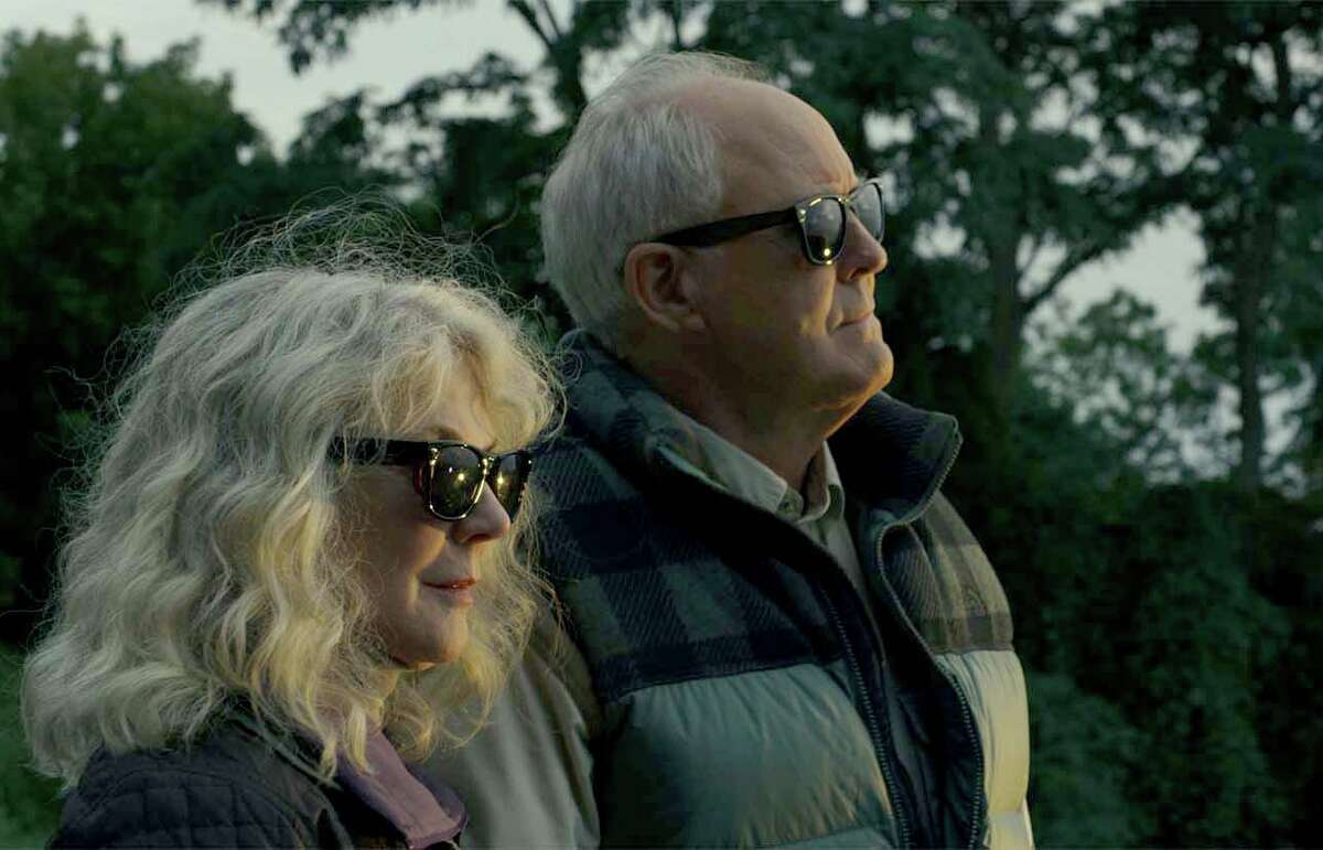Blythe Danner, left, and John Lithgow star in