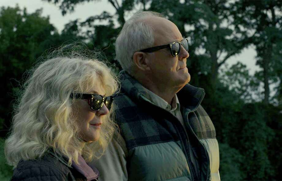 """Blythe Danner, left, and John Lithgow star in """"The Tomorrow Man."""" MUST CREDIT: Bleecker Street Photo: Bleecker Street / Bleecker Street."""