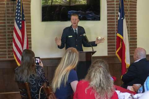 The Woodlands congressman toasts teens headed to military academies