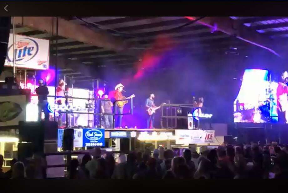 The band Flatland Cavalry performed at the Crosby Fair and Rodeo on June 6 Photo: Crosby Fair And Rodeo