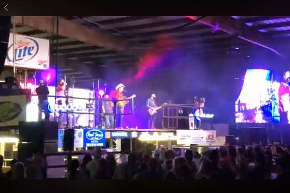The band Flatland Cavalry performed at the Crosby Fair and Rodeo on June 6