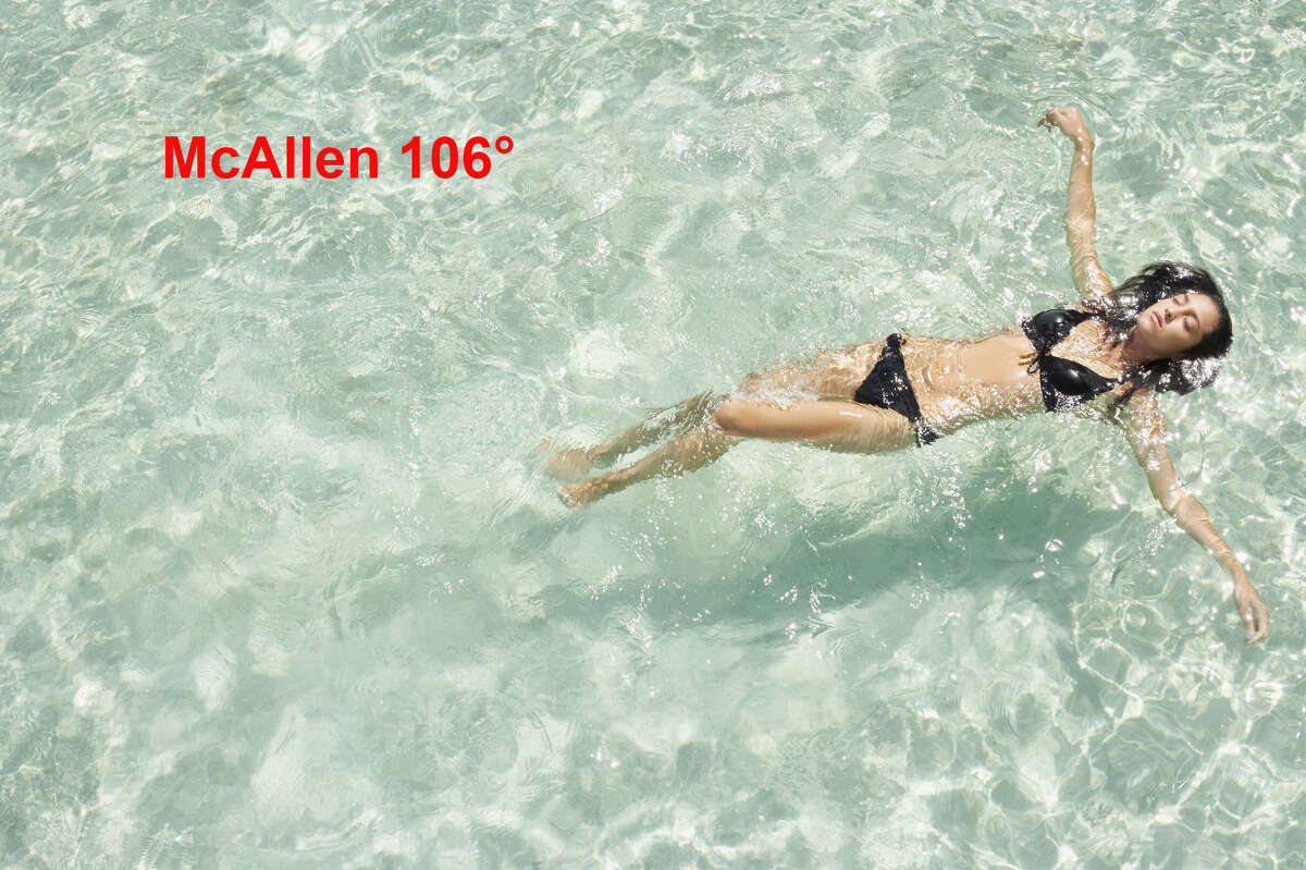 According to the National Weather Service McAllen saw a high of 106° this weekend.