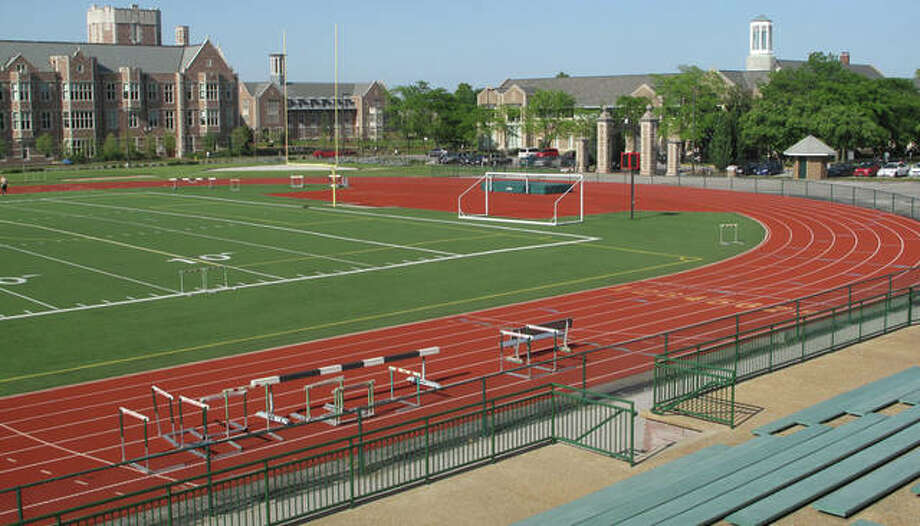 Participants of all ages are invited to join six-time Olympic medalist Jackie Joyner-Kersee and other area Olympians Saturday to run or walk the track at Washington University's Francis Field, one of the sites of the 1904 Olympic Games, as part of the Olympic Day celebration. Photo: Washington University