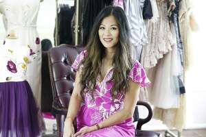 Style profile on Theresa Pham in her home on Wednesday, June 5, 2019 in Houston.
